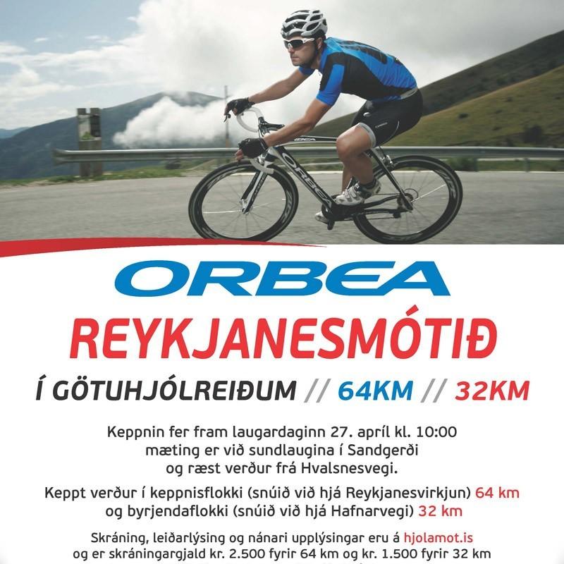 Orbea Reykjanesmótið í götuhjólreiðum.