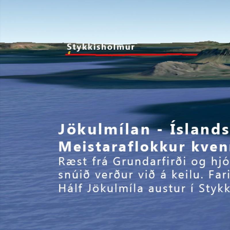 Íslandsmeistarmót í götuhjólreiðum og Jökulmílan