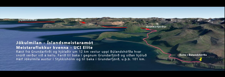 Jökulmílan - Íslandsmeistaramót 2017